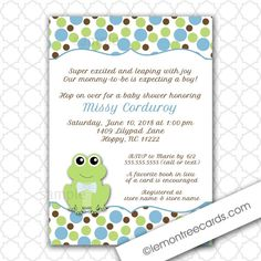 Door sign for frog baby shower Baby Pinterest Babies Frog
