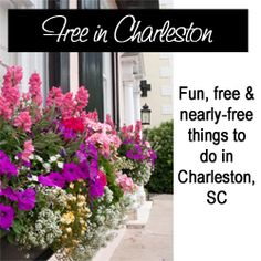Bargain Shopping Paradise: FREE (or semi-free) in Charleston: Fun, family-friendly, vacation, date night things to do in Charleston, SC, on a budget!
