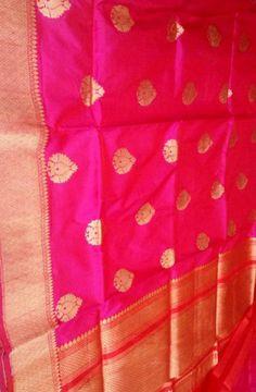 Pink,Handloom,Banarasi,Katan,Silk,Saree Phulkari Saree, Kasavu Saree, Banarasi Sarees, Silk Sarees, Bandhini Saree, Velvet Saree, Saree Models, Pochampally Sarees, Buy Sarees Online