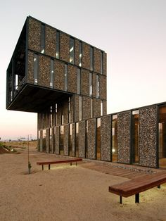 Acesso Parque Metropolitano Sul / Polidura Talhouk Arquitectos © Marcos Mendizabal