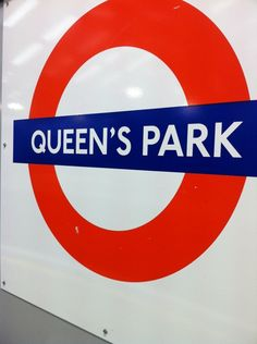 QUEEN'S PARK TUBE STATION | QUEEN'S PARK | LONDON | ENGLAND: *London Underground: Bakerloo Line*