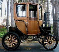 1905 Woods Electric - 1st smart car!