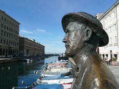 Joyce on the Canal