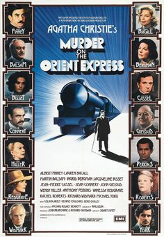 Murder On The Orient Express by Agatha Christie. Book & movie are the best.