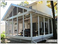 painting a screened porch exterior, curb appeal, painting, porches