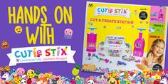 Cut and Create Your Own Jewelry and Nail Stickers with Cutie Stix!