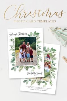 Wish your friends and family wonderful holiday season with this beautiful floral Christmas Card Template. The 5x7 Christmas card template is very easy to use! Simply add your photos, edit your names, download and print! Edit with Corjl in your web browser! Choose from a Year in Review or just photos for the back! Both options included! Demo Now! #ChristmasCards #ChristmasCardIdeas #ChristmasTemplate #ChristmasCard #HolidayPhotoCard