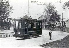 En ja.....er reed vroeger een heuse tram door Enschede.