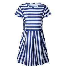 3cefa4ad0eedb5 NAME YOUR OWN PRICE -Missufe Striped O Neck Summer Dress Mini Casual Short  Sleeve T-shirt Female Clothing 2018 Streetwear Slim Beach Dress For Women