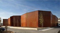 Centre culturel Paul Bailliart à Massy - Livré en 2010 - DDA (Devaux et Devaux Architectes) #batiserf #architecture #bois