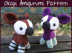 Okapi Amigurumi Pattern $5