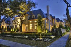 Highland Park (Dallas)-one of the most beautiful neighborhoods there.
