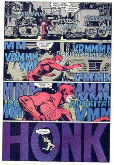 comicblah:Daredevil #187 art by Frank Miller, Klaus Janson