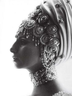 Beautiful beading. - Barbara Streisand - from from the 1970 movie On A Clear Day