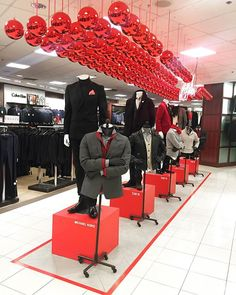 "MACY'S, South Coast Plaza, California, ""Men's Tailored Trend...your perfect Holiday outfit"", pinned by Ton van der Veer"