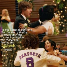 This moment was so cute ❤️ High School Musical Quotes, High School Musical Cast, Disney Channel Movies, Disney Channel Shows, Disney Songs, Disney Quotes, Monique Coleman, What Team, Movie Quotes