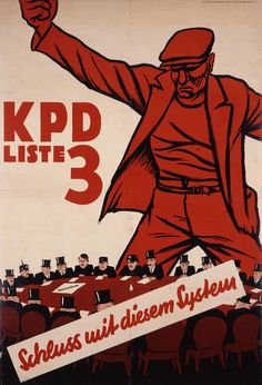 The KPD and the United Front during the Weimar Republic