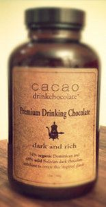 Cacao's premium drinking chocolate mix: If you're going to drink hot chocolate, make it the good stuff. It doesn't get much better than Cacao's decadent house-made drinking chocolates. This premium blend of dark chocolate from Bolivia and the Dominican Republic is a velvety, rich balance between bitter and sweet.   $25 for a 12-ounce jar. cacaodrinkchocolate.com