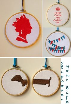 Such cute cross stitch