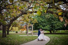 Luther College Decorah Iowa, Fall wedding photography, bride and groom photos, October weddings.