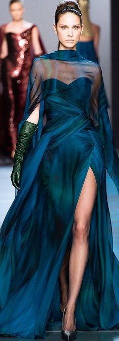 Georges Chakra Fall / Winter Couture 2014-15