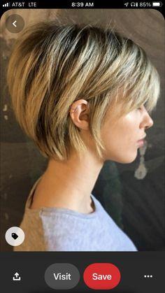 Short Choppy Hair, Short Grey Hair, Short Bob Hairstyles, Short Hair Cuts, Short Hair With Layers, Cool Hairstyles, Short Hair Styles, Short Pixie Bob, Pelo Pixie