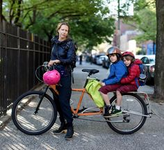 Different bike options when toting kids along for the ride
