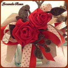 Locanda Rosa: Natale 2014 ..vasetti porta candele