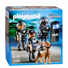 Verwonderend 9 Best Playmobil. POLICE 6 images in 2018 | Playmobil toys, Police MR-96