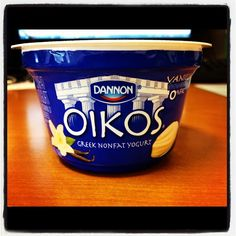 We spend our mornings together. @Dannon #addicted