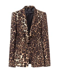 Image 6 of ANIMAL PRINT BLAZER from Zara