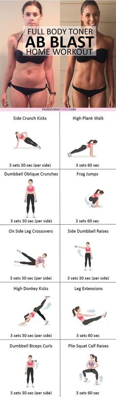 #womensworkout #workout #femalefitness Repin and share if this workout helped you get rapid ab results! Click the pin for the full workout.