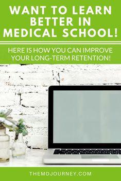 How To Improve Long-Term Memory in Medical School - Health Nursing School Memes, Online Nursing Schools, Nursing Jobs, Ob Nursing, Getting Into Medical School, What Is Nursing, Lpn Schools, Emergency Room Nurse, Nursing School Prerequisites