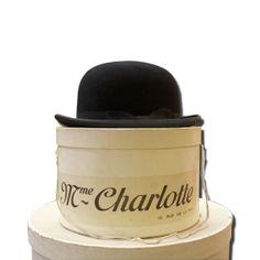 Sombrero Bombín con sombrera original