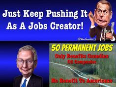Boehner & McConnell teaming up to create 50 #Jobs #KeystoneXL #UniteBlue #LibCrib #TNTweeters http://www.washingtonpost.com/blogs/the-fix/wp/2014/11/18/how-the-50-long-term-jobs-keystone-xl-would-produce-compares-to-the-rest-of-the-economy/ …