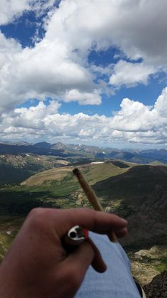 My favorite smoking spot so far! (Mt. Bierstadt, Colorado) • r/weed