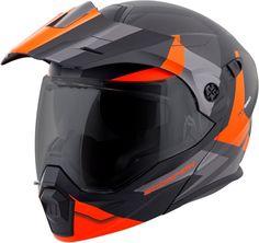 fd801e03 Scorpion EXO AT950 Neocon Modular Adventure Touring Snow Helmet - Dual Pane  Shield, HI-VIZ YELLOW,ORANGE,SILVER