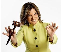 """Dra. Ana Maria Polo ...lawyer and Hispanic television judge on """" Caso Cerrado """""""