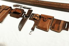 Fragment.  Interchangeable Belt Set. From city tours, to expeditions. Designed and made by Leon Litinsky