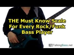 THE Must Know Scale For Every Rock/Funk Bass Player (L#138)