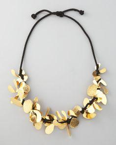 Herve Van Der Straeten Twine Necklace in Gold - love it, so different.