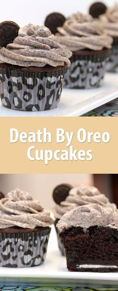 Death by Oreo cupcake (or any other cupcake) is a sad, but tasty way to go.