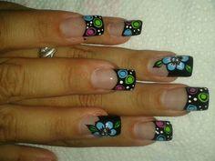 Uñas Nail Art, Nails, Beauty, Art, Finger Nails, Ongles, Nail Arts, Beauty Illustration, Nail Art Designs