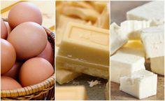 Si sigues todas las tendencias de Internet y te encanta cocinar, ¡tienes que hacer esta combinación de pastel viral!Es muy fácil, solo lleva 3 ingredientes y queda delicioso.¿Lista para saber de qué se trata? ¡Adelante! Ingredientes:3 huevos120 gr de chocolate blanco120 gr de queso blancoPreparación:Antes d Sin Gluten, Sweet Recipes, Mousse, Deserts, Good Food, Dairy, Cupcakes, Internet, Cheese