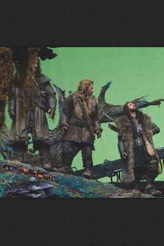 Richard Armitage as Thorin Oakenshield in The Hobbit Trilogy (2012-2014) Behind the Scenes