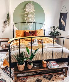 Home Interior Simple .Home Interior Simple Bohemian Bedroom Decor, Bedroom Inspo, Bedroom Rustic, Modern Bedroom, Bedroom Ideas, Bohemian Interior Design, Minimalist Bedroom, Woman Bedroom, Bedroom Bed