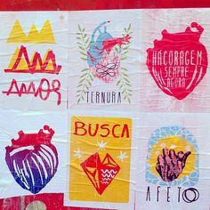 Vital Lordelo espalha cartazes sutis cheios de boas intenções pelas ruas; Mais