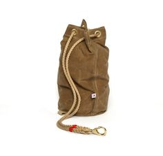 waxed canvas ditty bag from Best Made.. would go good with some red flannel..