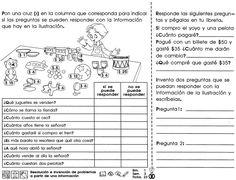 Resultado de imagen para actividades de español para cuarto grado de primaria para imprimir