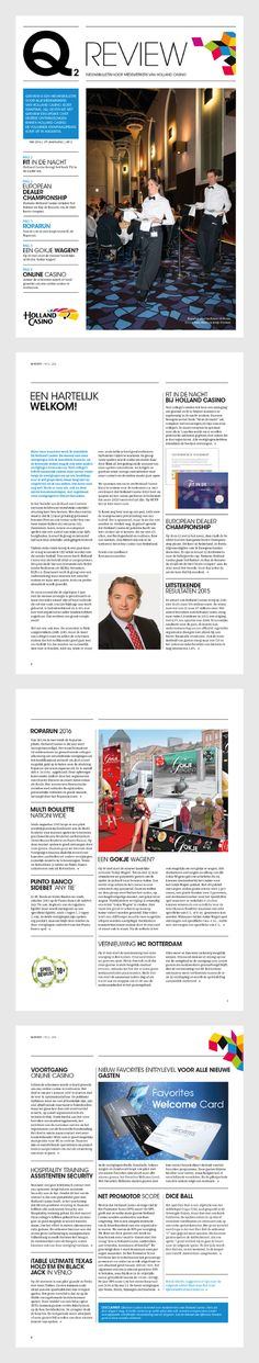 Interne communicatie :: Holland Casino :: News bulletin.